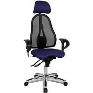 TOPSTAR Sitness 45 tmavo modrá - Kancelárska stolička