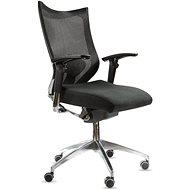 SPINERGO Office čierna - Kancelárska stolička