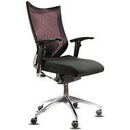 SPINERGO Office vínová - Kancelárska stolička