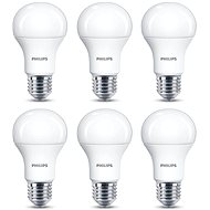 Philips LED 13-100W, E27, 2700K, matná, set 6ks - LED žiarovka