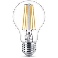 Philips LED Classic Filament 8-75W, E27, čirá, 2700K