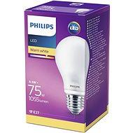 Philips LED Classic 8.5-75W, E27, Matná, 2700K