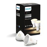 Philips Hue White Ambiance 5,5 W GU10 súprava 2 ks - LED žiarovka