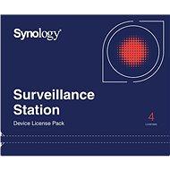 Synology NAS 4 licencie pre ďalšie IP kamery do Surveillance Station - Softvér