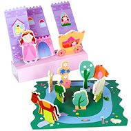 Sada penových hračiek do vane - Rozprávkový zámok - Hračka do vody