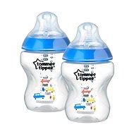 Dojčenská fľaša s obrázkami C2N 260 ml 2 ks - modrá - Detská fľaša