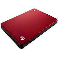 Seagate BackUp Plus Slim Portable 2 TB červený - Externý disk