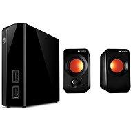 Seagate BackUp Plus Hub 4TB + 2x USB, černý + CANYON CNE-CSP202 - Externý disk