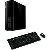 Seagate BackUp Plus Hub 4TB + 2x USB, černý + Canyon CNS-HSETW3 CZ - Externý disk