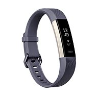 Fitbit Alta HR Blue Gray Large - Fitness náramok