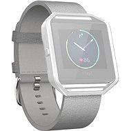 Fitbit Blaze Leather Mist Grey Large - Remienok