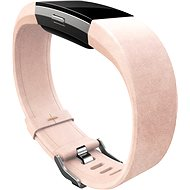Fitbit Charge 2 Band Leather Blush Pink Large - Remienok