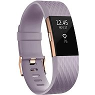 Fitbit Charge 2 Large Lavender Rose Gold - Fitness náramok