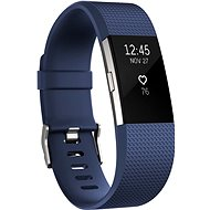 Fitbit Charge 2 Small Blue Silver - Fitness náramok