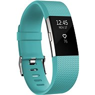 Fitbit Charge 2 Small Teal Silver - Fitness náramok