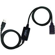 PremiumCord USB 2.0 repeater 10 m, predlžovací - Dátový kábel