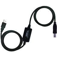 PremiumCord USB 2.0 repeater 20m prepojovací - Dátový kábel