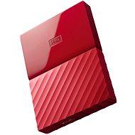 "WD 2,5"" My Passport 1 TB červený - Externý disk"