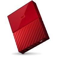"WD 2,5"" My Passport 3 TB červený - Externý disk"