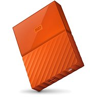 "WD 2,5"" My Passport 4 TB oranžový - Externý disk"