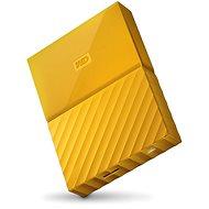 "WD 2,5"" My Passport 4 TB žltý - Externý disk"
