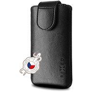 FIXED Sarif 5XL+ čierne - Puzdro na mobilný telefón