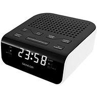 Sencor SRC 136 WH čierno-biely - Rádiobudík