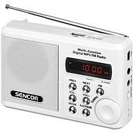 Sencor SRD 215 W biele - Rádio