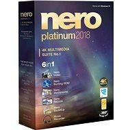 Nero 2018 Platinum CZ - Napaľovací softvér