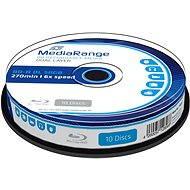 MediaRange BD-R (HTL) 50 GB Dual Layer10 ks CakeBox - Médiá
