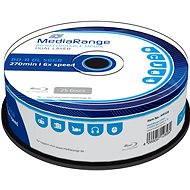 MediaRange BD-R (HTL) 50GB Dual Layer, 25ks CakeBox - Médiá