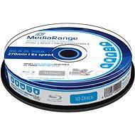 MediaRange BD-R (HTL) 50GB Dual Layer Printable 10 ks CakeBox - Médiá