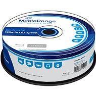 MediaRange BD-R (HTL) 25GB, 25ks CakeBox - Médiá