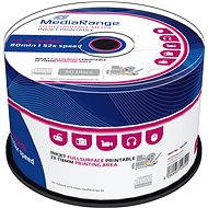MediaRange CD-R Inkjet Printable 50 ks CakeBox - Médiá