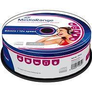 MediaRange CD-R Audio 25ks CakeBox - Médiá