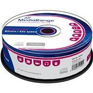 MediaRange CD-R 25ks CakeBox - Médiá