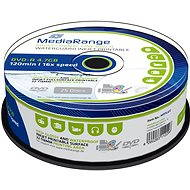 MediaRange DVD-R WaterGuard Inkjet Fullprintable 25ks CakeBox - Médiá