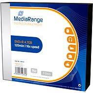 MediaRange DVD + R 5ks v SLIM krabičke - Médiá
