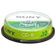 Sony CD-R 10ks CakeBox - Médiá