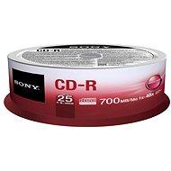 Sony CD-R 25ks CakeBox - Médiá