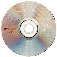 Verbatim DVD-RAM 3x, 3ks v SLIM krabičke - Médiá