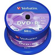 Verbatim DVD+R 16x, 50ks CakeBox - Médiá