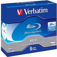 Verbatim BD-R 25GB 6x, 5ks v krabičke - Médiá