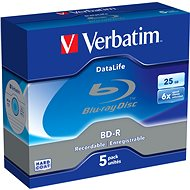 Verbatim BD-R DataLife 25 GB 6x, 5ks - Médiá