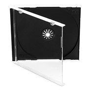 Škatuľka na 1 ks - čierna, 10 mm, 10 kusov - Obal na CD