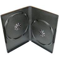 Krabička slimULTRA pre 2 ks - čierna, 7 mm - Obal na DVD