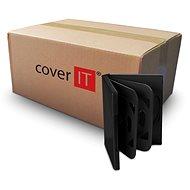 Krabička na 6ks - černá, 24mm - Obal na DVD