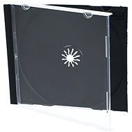 Obal na 1ks – čierny, 10 mm - Obal na CD