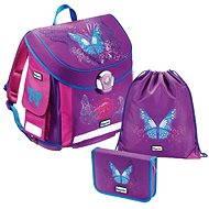 Baggymax - 3 dielny set Canny Motýľ - Školská súprava