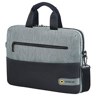 "American Tourister CITY DRIFT LAPTOP BAG 13.3""-14.1"" BLACK/GREY - Taška na notebook"